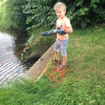 Een 50 kg magneet is onze kindvriendelijkste vismagneet